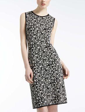 ジャカードニット ドレス