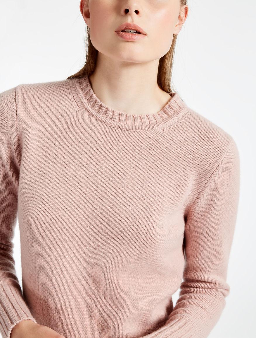 MAX MARA - Virgin cashmere jumper Pink CTKGDH