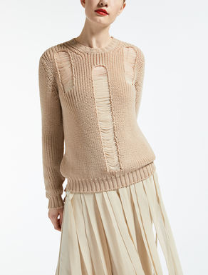 Nylon yarn sweater