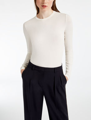 Top for Women On Sale, White, Cotton, 2017, 6 8 Weekend by Max Mara