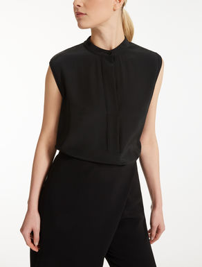 Viscose crêpe top