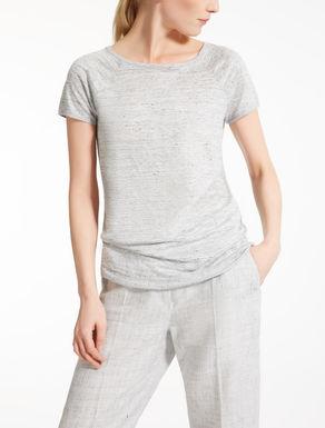 Linen jersey T-shirt