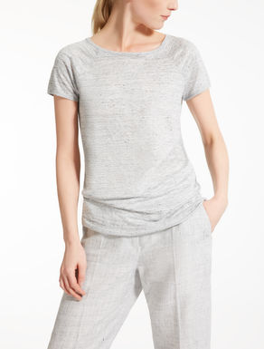 Camiseta de jersey de lino