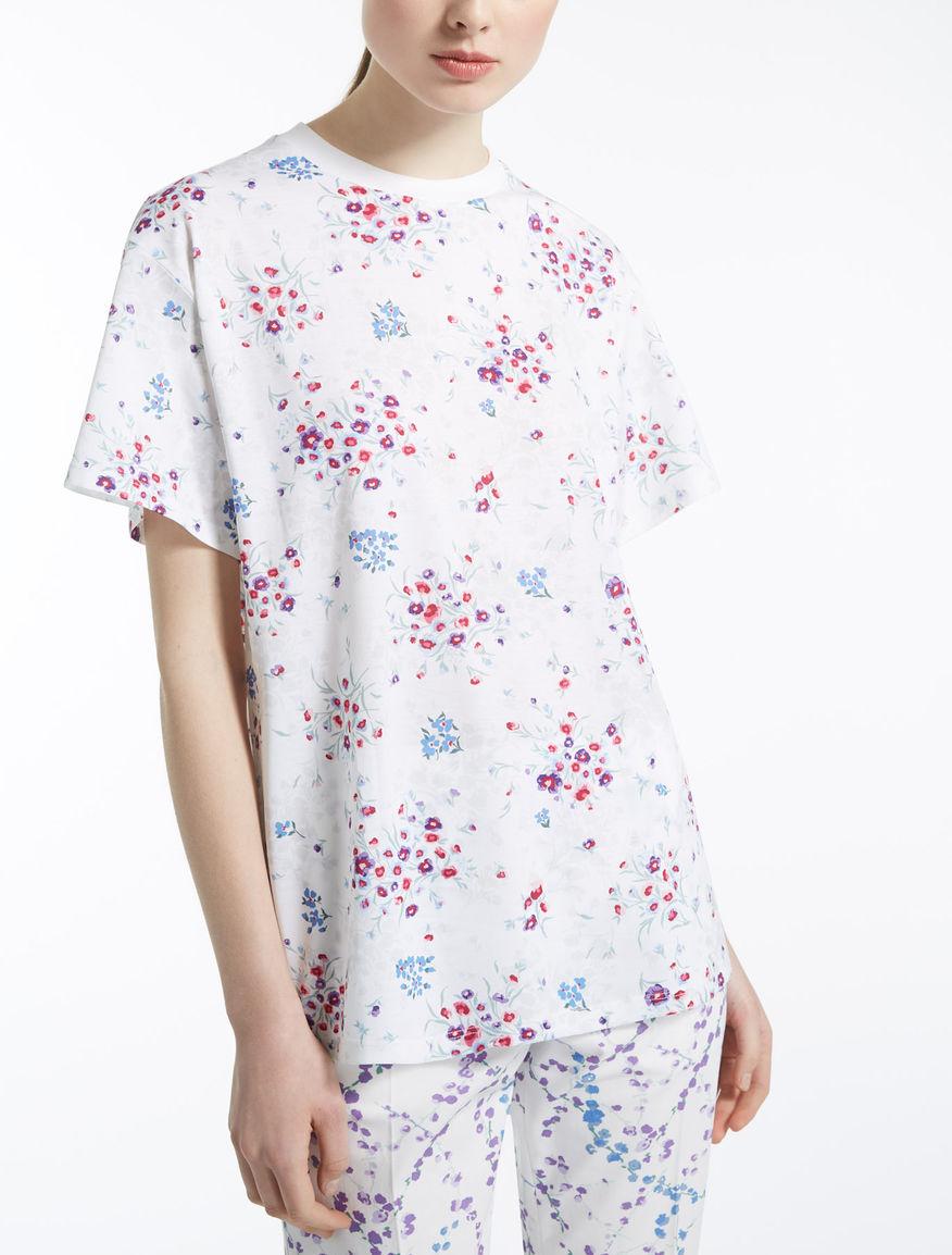 ピュア コットンTシャツ