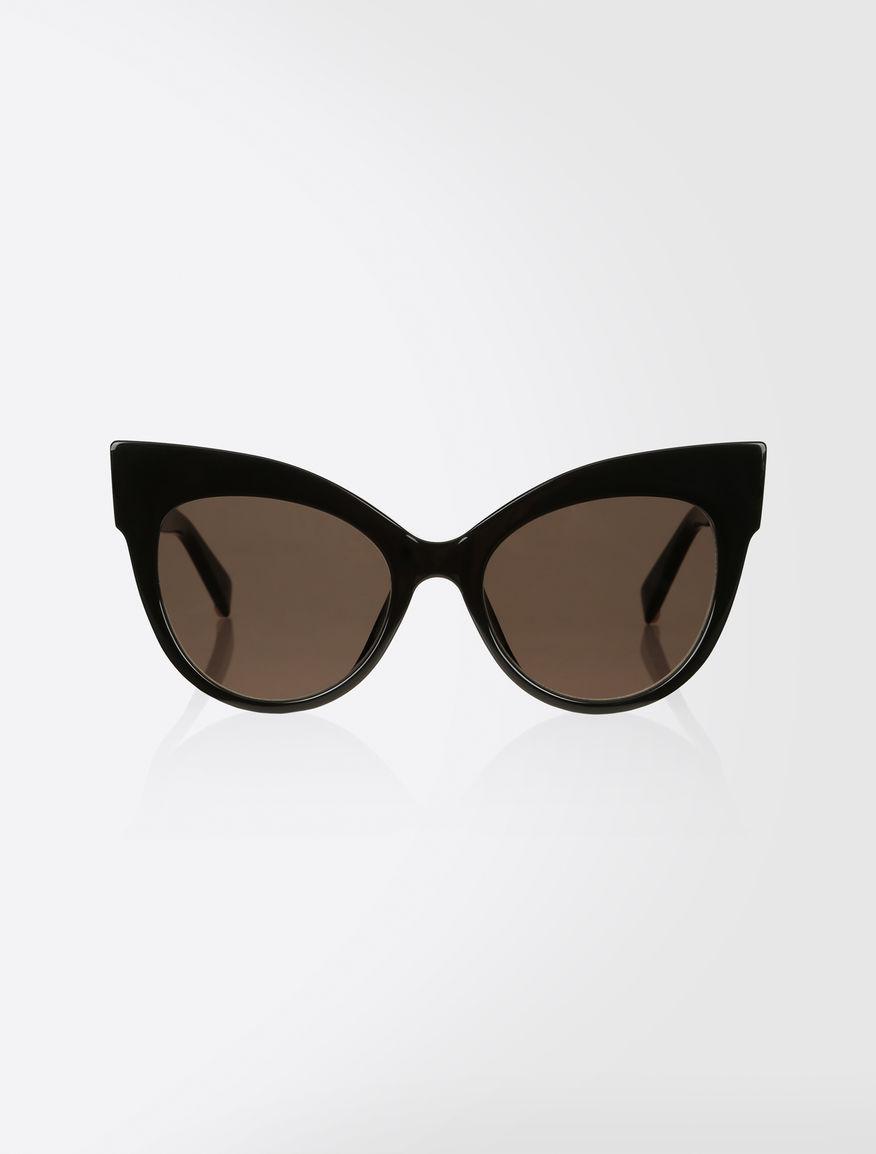 Occhiali da sole cat eye nero anita max mara for Pubblicita occhiali da sole