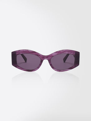 Slim butterfly sunglasses