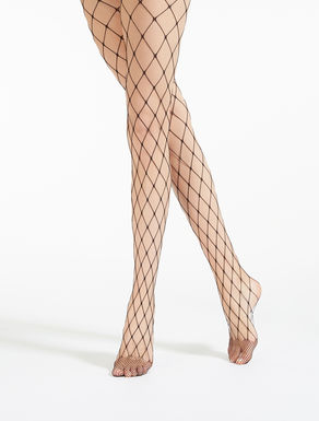 Large-mesh tights