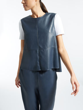 Coated fabric top