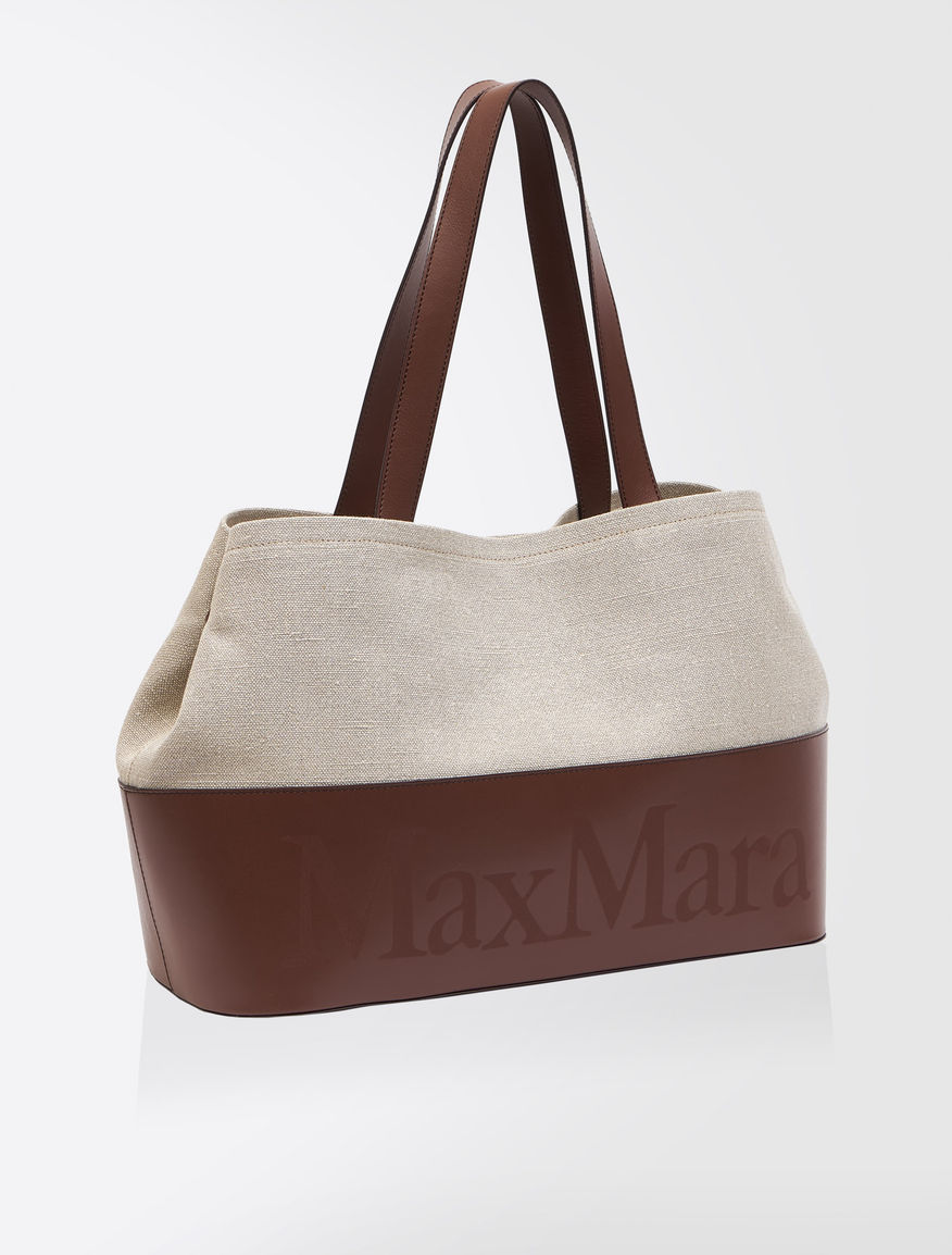 [ショッピング] リネンキャンバス バッグ