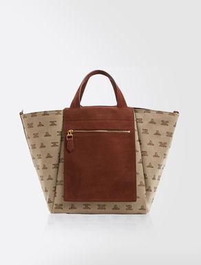 Large reversible shopper bag