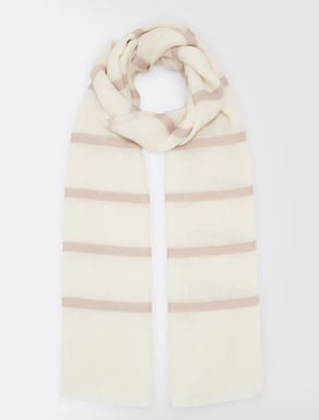 Linen and cashmere stole