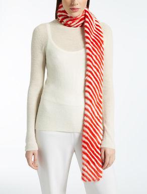 Schal aus Nerzpelz