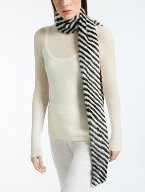 Mink scarf