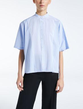 Hemdbluse aus Baumwollpopeline