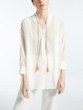 Bluse aus Baumwoll-Voile