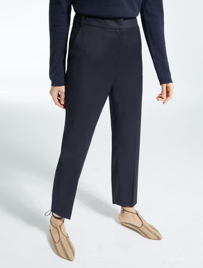 Wool cloth trousers