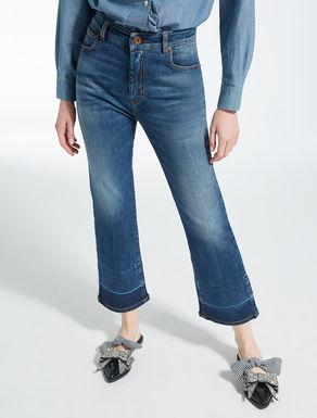 Flared skinny jeans