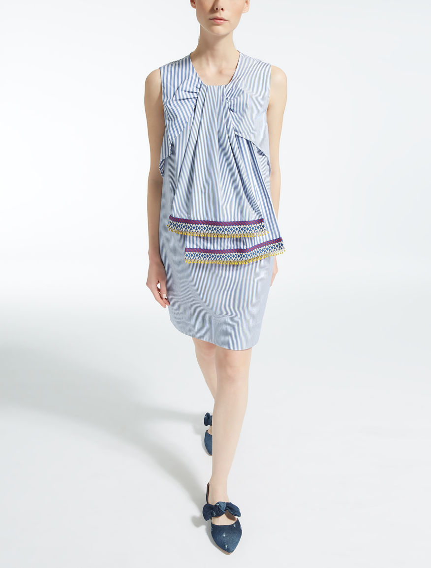ピュア コットンポプリン ドレス