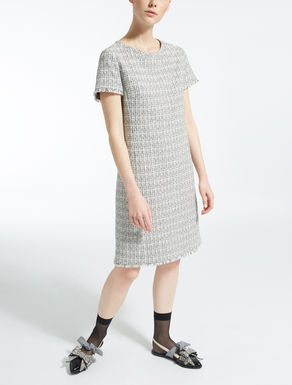 Cotton basketweave dress