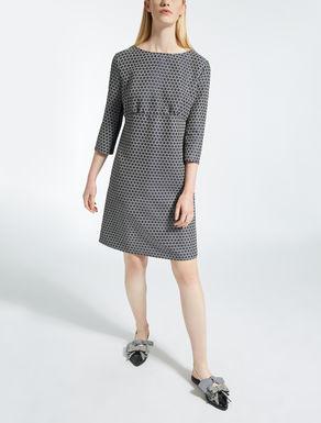 Jersey ottoman dress