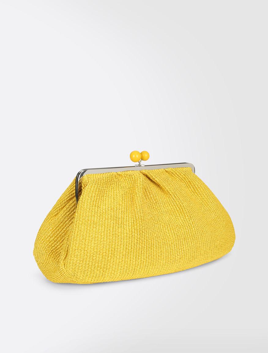 Raffia Maxi Pasticcino bag