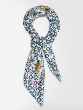 ピュア シルク ツイル スカーフ