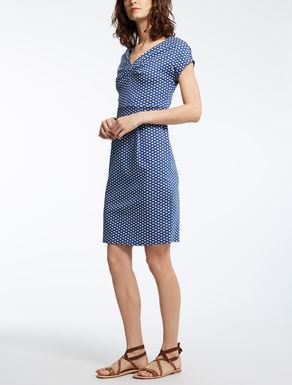 ピュア コットンジャージー ドレス