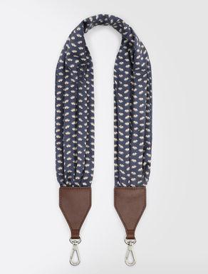 Silk Pasticcino Bag shoulder strap