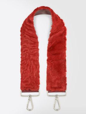 Lambskin Pasticcino Bag shoulder strap