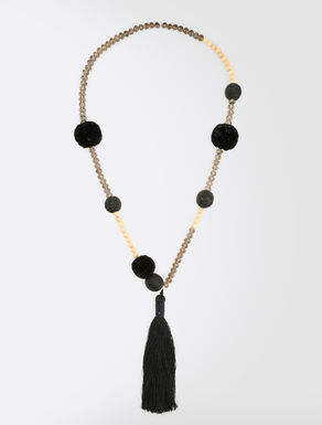 Maxi-pendant necklace
