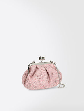 Mini Pasticcino Bag in woollen bouclé