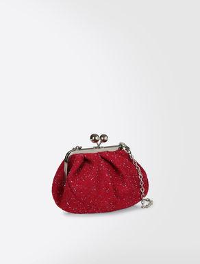 Mini Pasticcino Bag in woollen bouclé