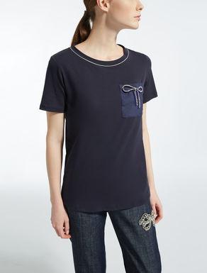 Stretch cotton T-shirt