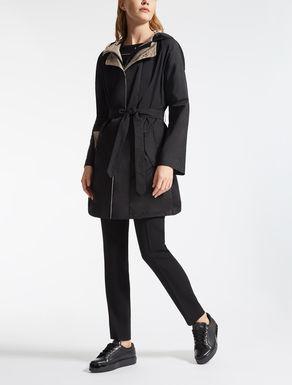 Drop-proof satin duster coat