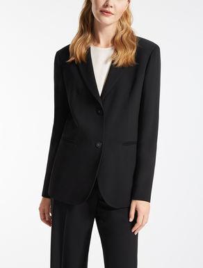 Wool and viscose blazer
