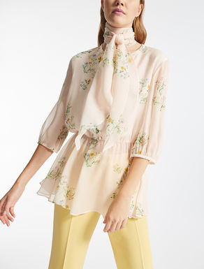 Silk georgette blouse