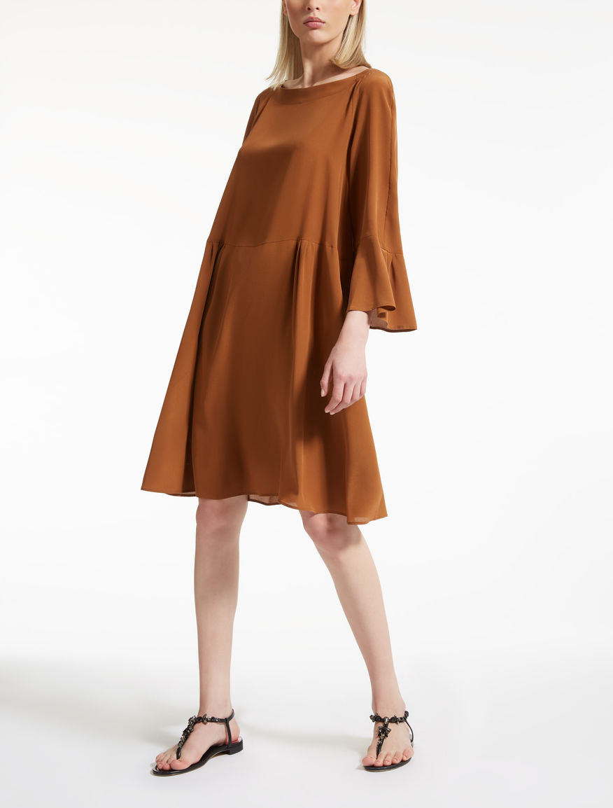 Silk crêpe de chine dress