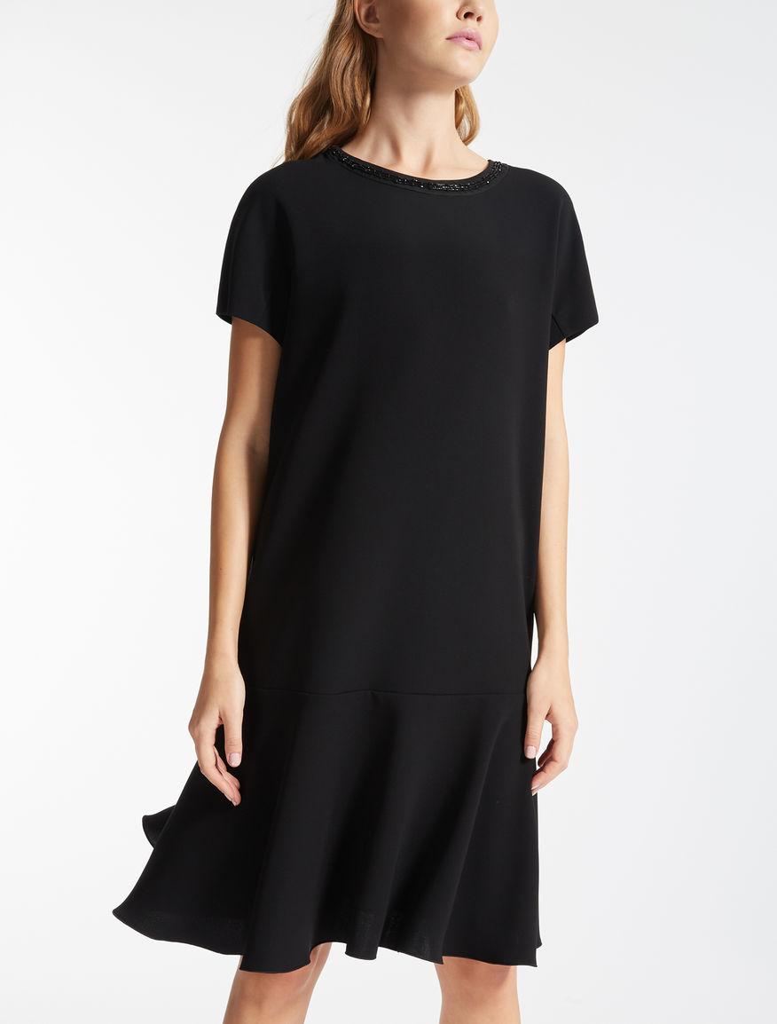 トリアセテート キャディブラック ドレス