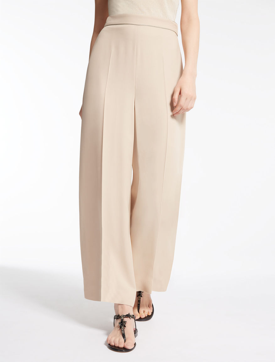Double georgette trousers