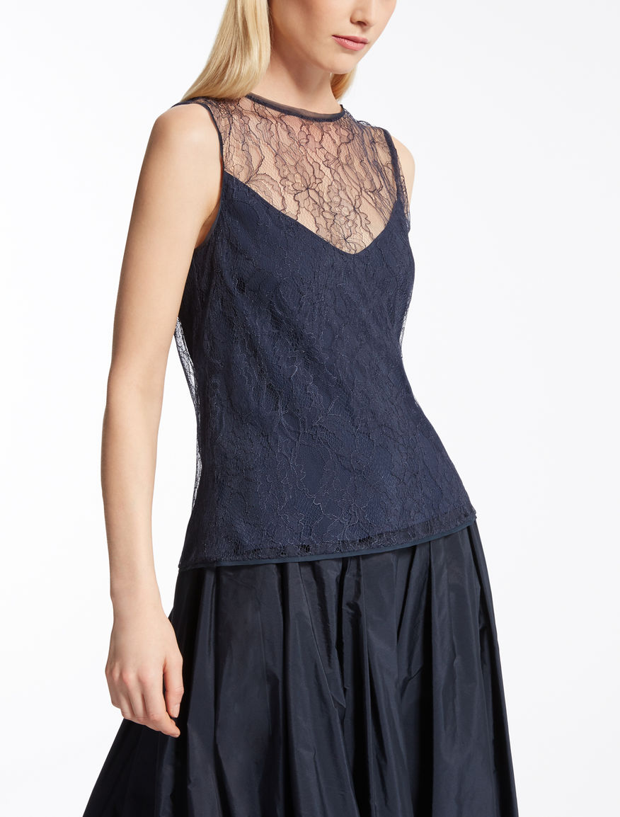 Chantilly lace top