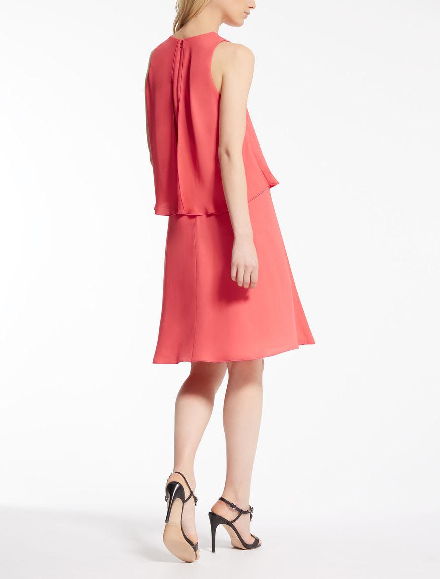 Fata sleeveless georgette dress Max Mara Under 70 Dollars Sale Recommend Buy Cheap Top Quality Cheap Usa Stockist 90Mtgq