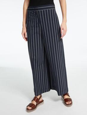 Pantaloni in tela di cotone