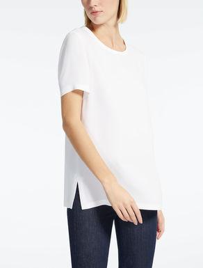 Silk georgette T-shirt