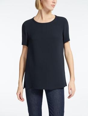 Shirt aus Seidengeorgette