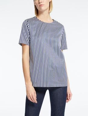 T-Shirt aus Baumwollsatin