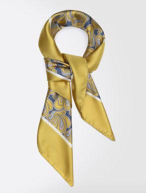 Silk twill scarf