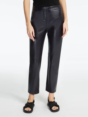 Technical fabric trousers.