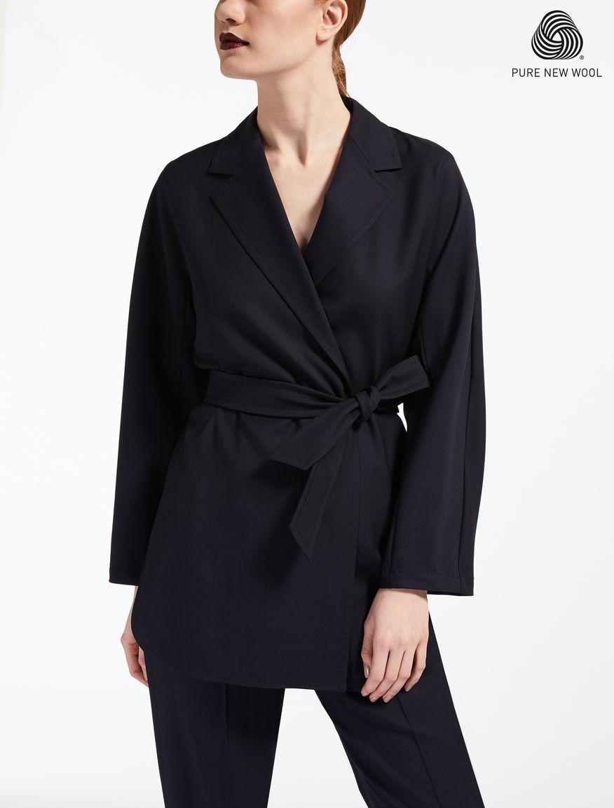 Extra-fine wool blazer
