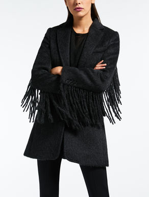 Mantel aus Wolle und Alpaka