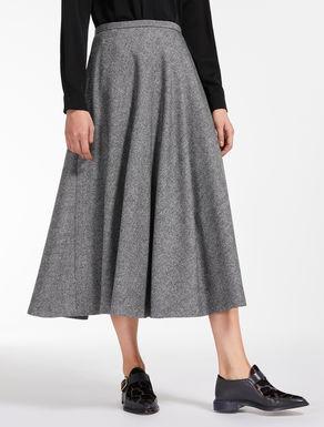 Falda en lana y cachemir